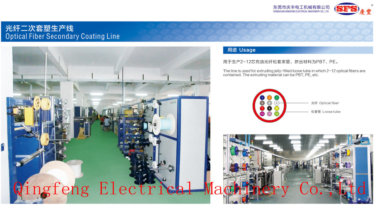Optical Fiber Cable Extrusion Line