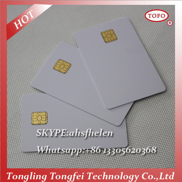 Blank Inkjet Contact IC Card