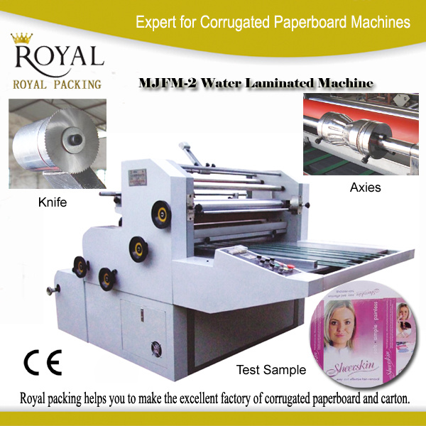 Water Soluble Laminator Machine Film to Paper
