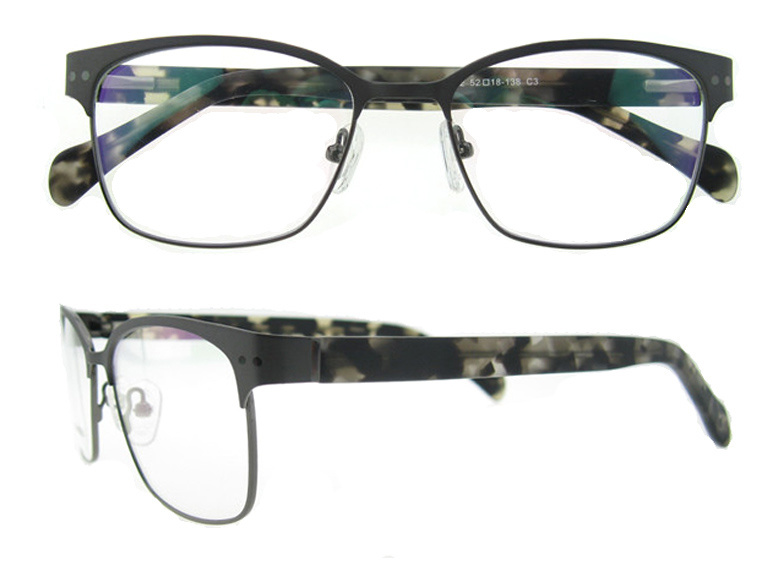 2016 Most Popular Fullrim Stainless Eyeglass Frames Spectacle for Men and Women
