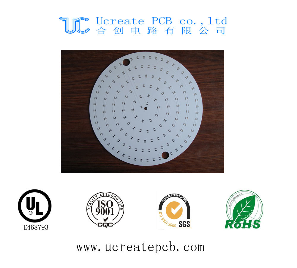Single Side Metal Core PCB with UL