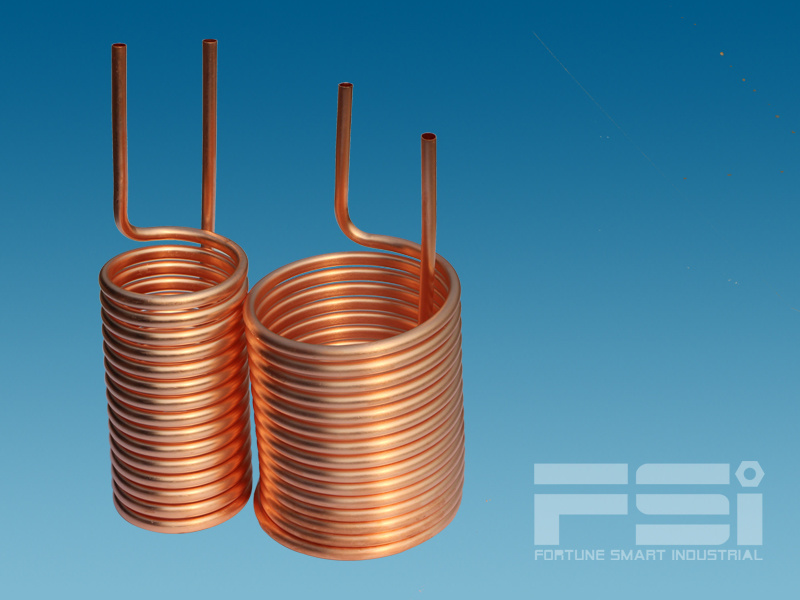 Coiling Copper Tubing Heat Exchanger 618
