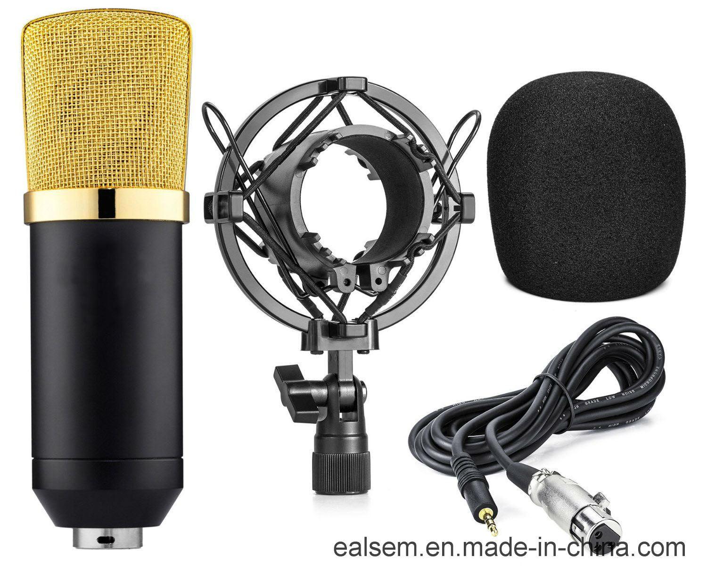 Ealsem Es-6sk 3.5 Plug No Need 48V Computer Studio Microphone