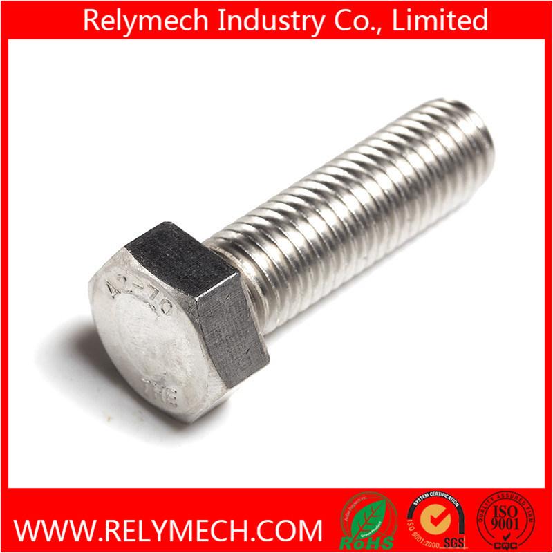 DIN933 Stainless Steel Hex Head Bolt Machine Screw M5-M33