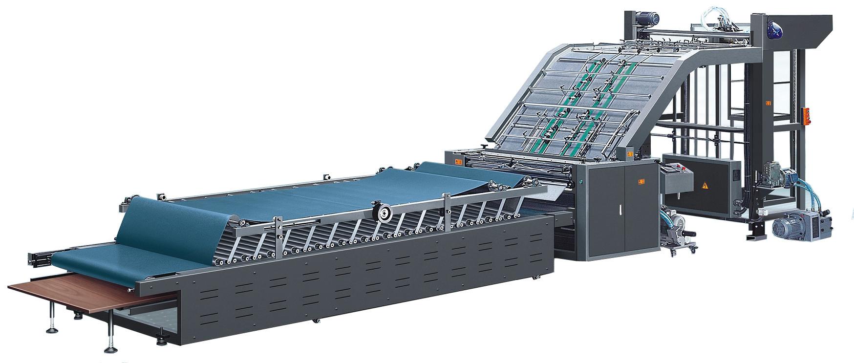 High Speed Fully Automatic Flute Laminating Machine, Corrugated Paper Machine