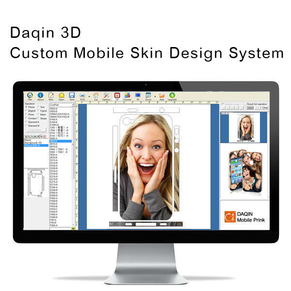 Cell Phone Mobile Phone Skin Designing Software