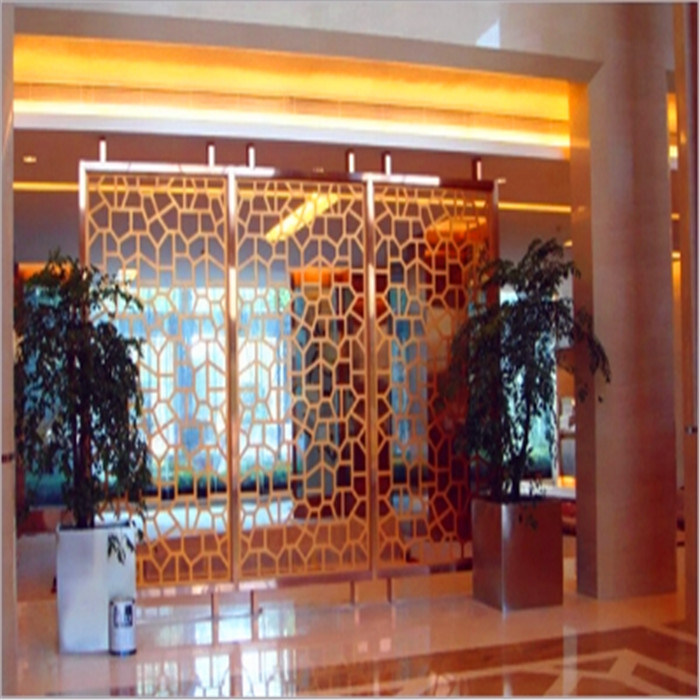 Laser Cutting Stainless Steel Screen Design for Interior Wall Decorative Panel