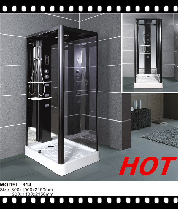Complete Glass Shower Cabin with ABS Shower Tray