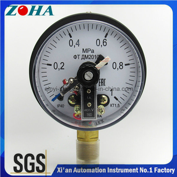 Electrical Contact Pressure Gauges with Magnetic