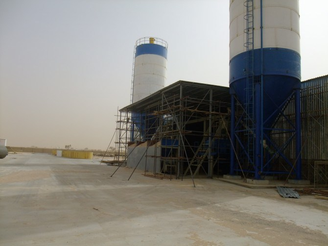 Cement Silo for Block/Brick Making Machine, Cement Tank for Block