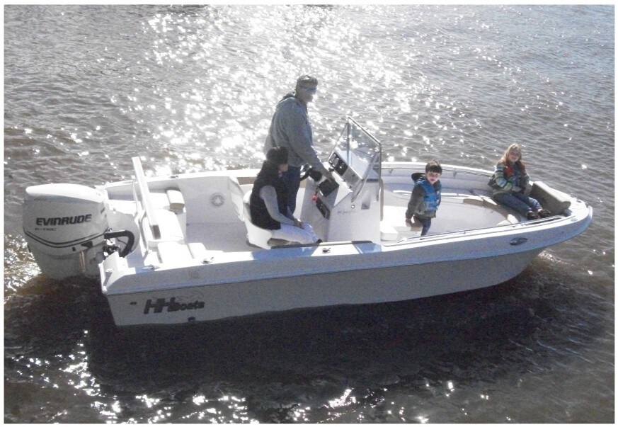19ft Center Console FRP Fishing Boat