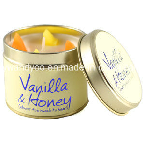 Luxury Tin Scented Soy Wax Candles for Decoration