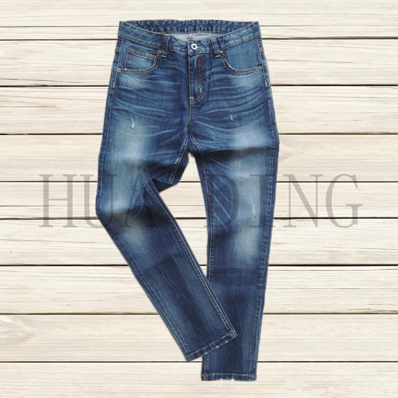 New High Quality Fashion Casual Straight Men′s Denim Jeans (HDMJ0040)