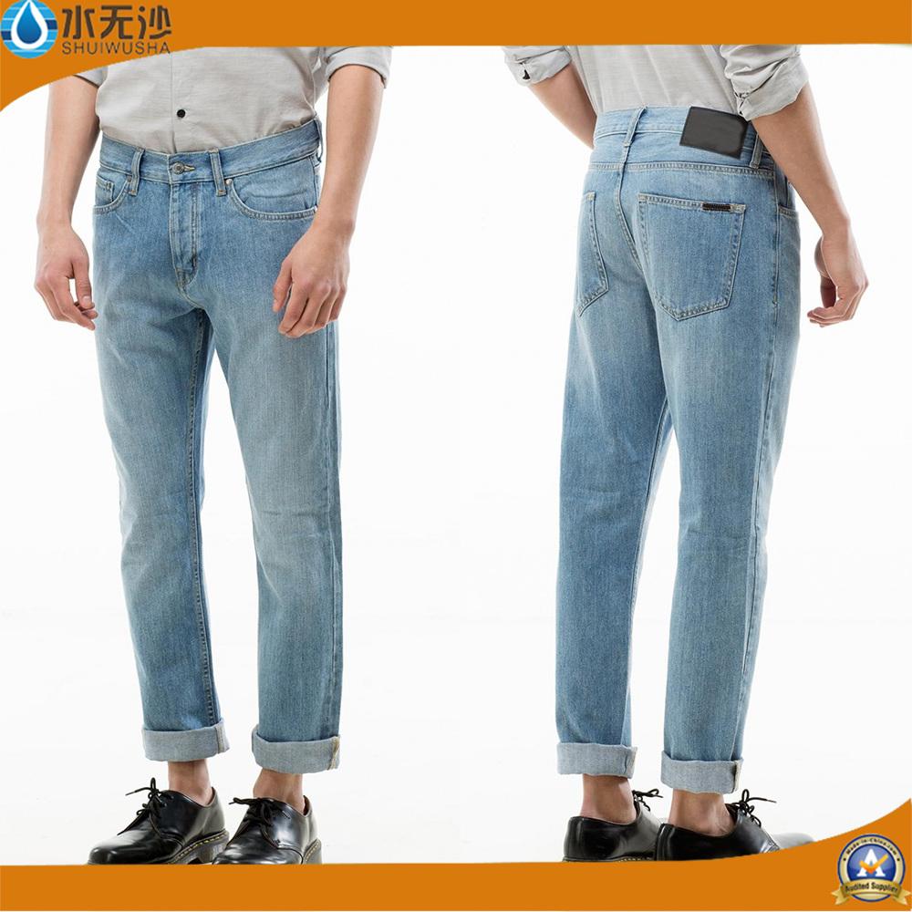 Factory OEM Men Blue Jeans Fashion Cotton Denim Jeans