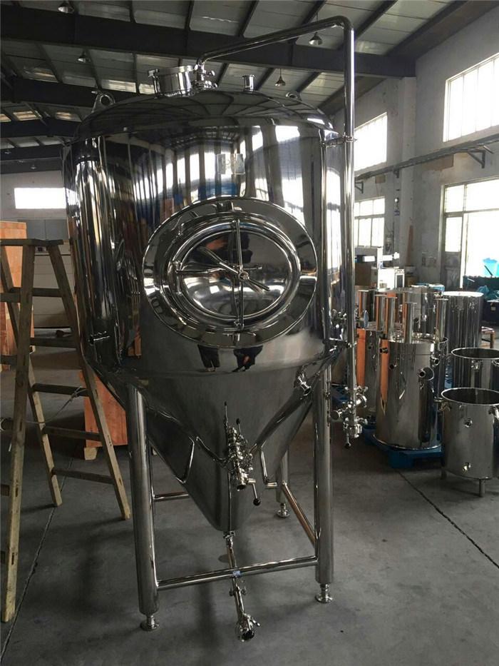 Big Conical Beer Fermentation Tank