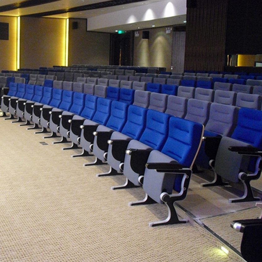 Folding Auditorium, Theater Chair Auditorium Seat, Conference Hall Chairs Push Back Auditorium Chair Plastic, Auditorium Seating (R-6171) , Auditorium Seat