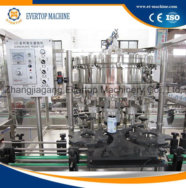 Aluminum Can Beverage Filling Machine