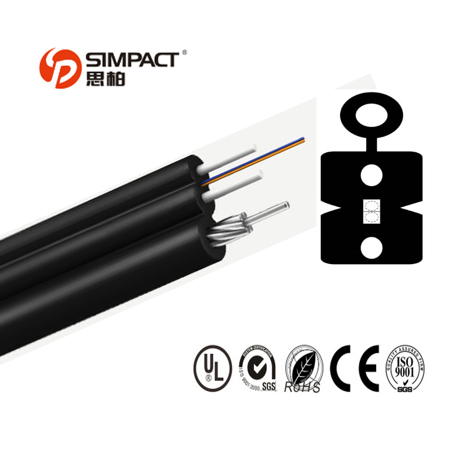 Self-Supporting Butterfly Introduction Optical Cable