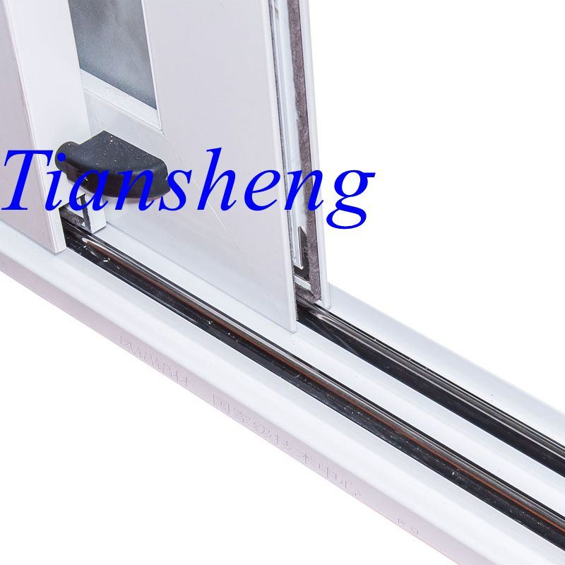Three Tracks Aluminum Alloy Sliding Door with 2.0mm Thickness
