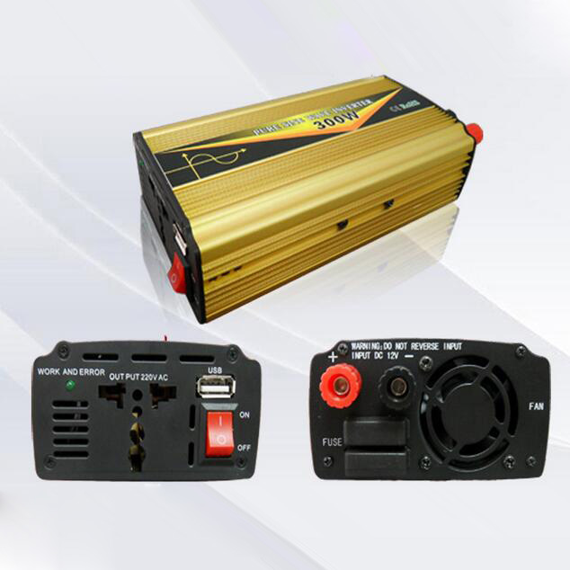 300W DC12V/24V AC220V/110 Pure Sine Wave Power Inverter