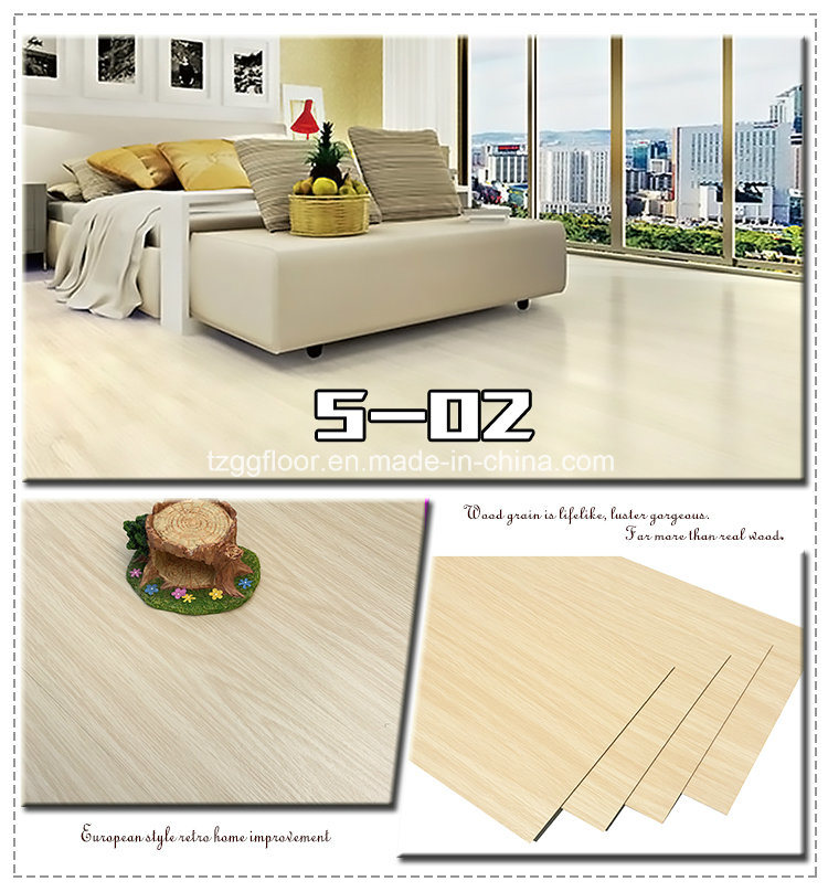 Custom PVC Floor Waterproof Laminated Household Wooden Flooring