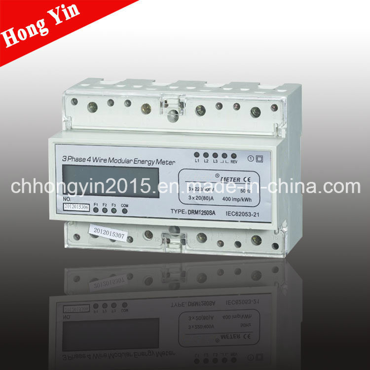 DRM1250SA Three Phase Electronic Watt-Hour Meter