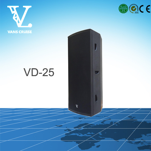 Vd-25 Dual 15′′ Good Performance Professional Loudspeaker Manufacturer
