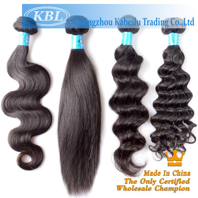 100% Remy Human Hair Extension, Natural Virgin Brazilian Hair