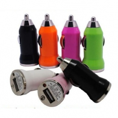 USB Car Charger Manufacturer From Shenzhen Factory with 5V, 1A. 2.1A, 3.1A