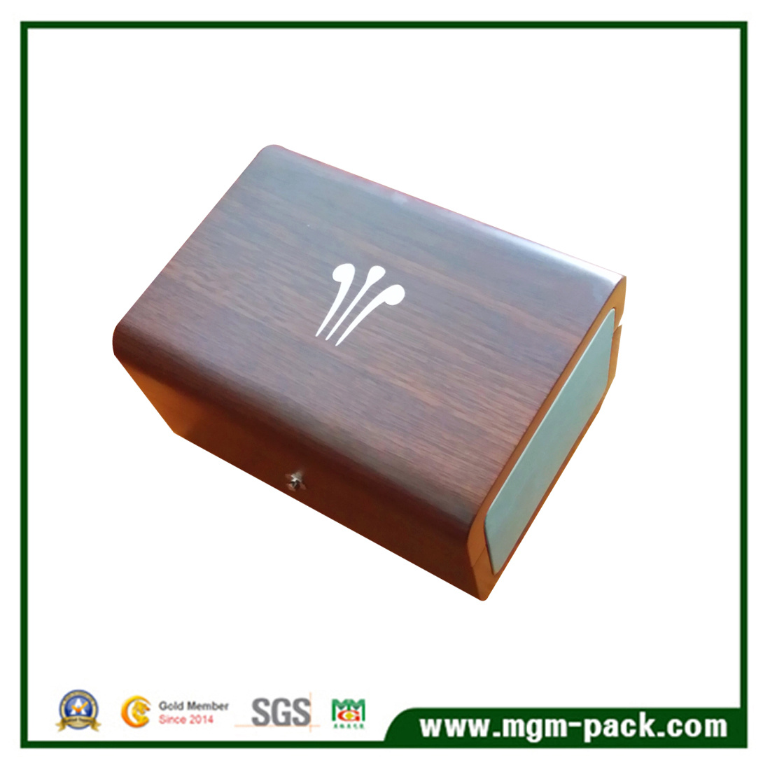 Fancy Matt Single China Wooden Watch Box