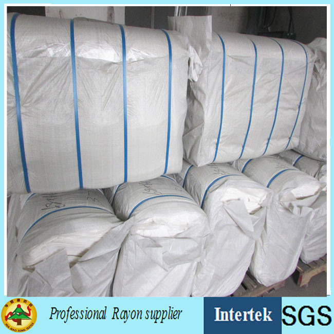 Textile Factory Supply Grey Rayon Fabric Made by Air Jet Loom