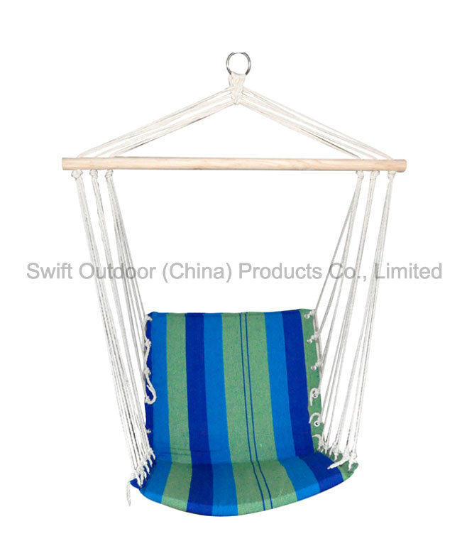 Color Stripe Quilted Hammock Chair