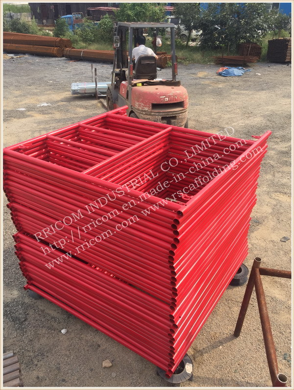 Construction American Scaffold Frame /Ladder Frames Scaffolding