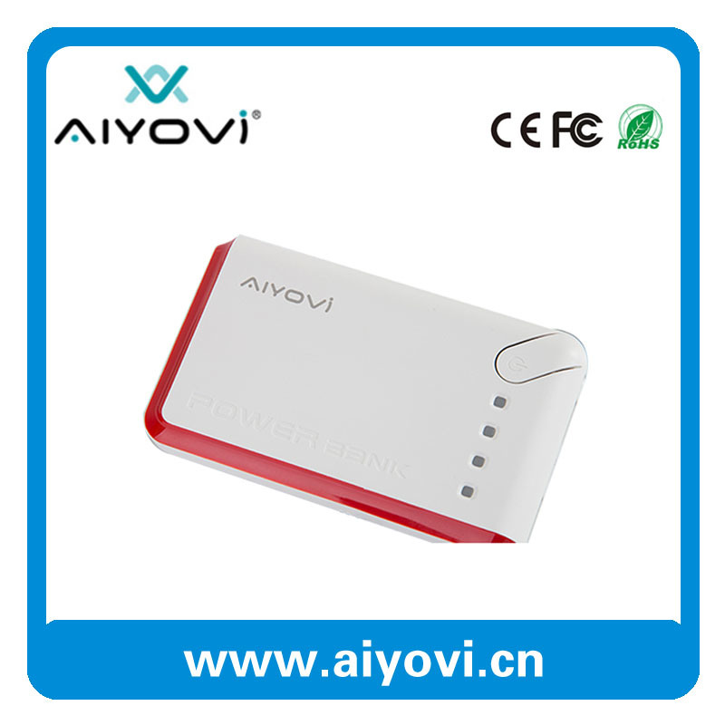 2016 High Quality Promoiton Gift Power Bank 6600 mAh