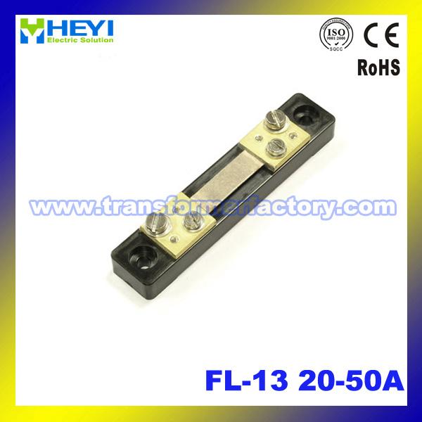 Manganin (FL-13) 20-50A Current Shunt Resistor DC for Current Transformer
