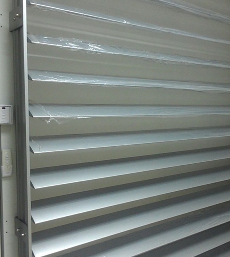 Aluminum Motorized Louvers Automatic Louver Dynamic Louver China Motorized Louver Aluminum
