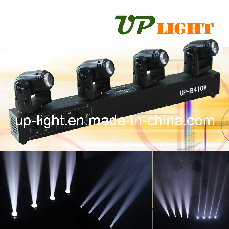 4 Heads Moving Head 10W LED Mini Beam Stage Equipments