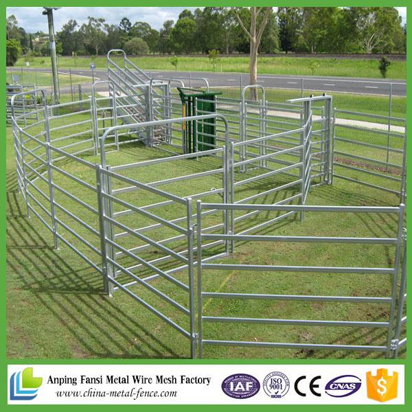 Galvanized Cattle Yard for Australia Marking
