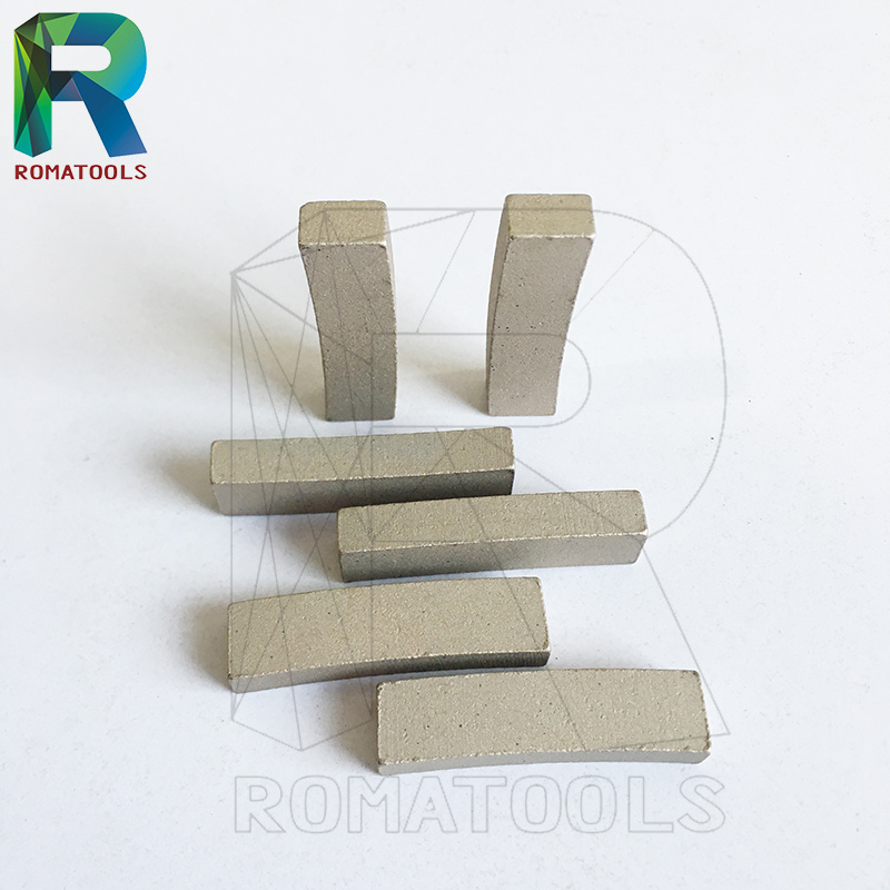 Sand Blasted Diamond Segments for Granite Stone Cutting