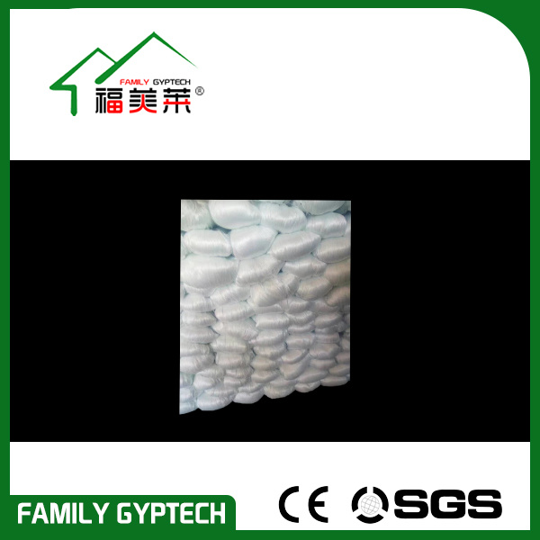 Non-Alkali E-Glass Glassfiber for Making Gypsum Cornice