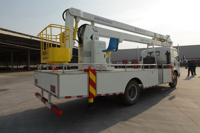 Sinotruk HOWO Hydraulic Lift Platform Truck