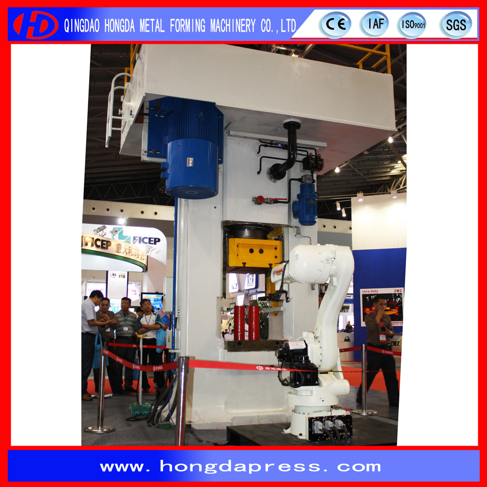 Friction Screw Press with Hot Forging