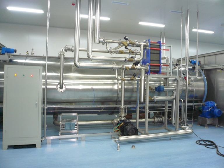 Autoclave Hot Water Sprinkling Sterilizer