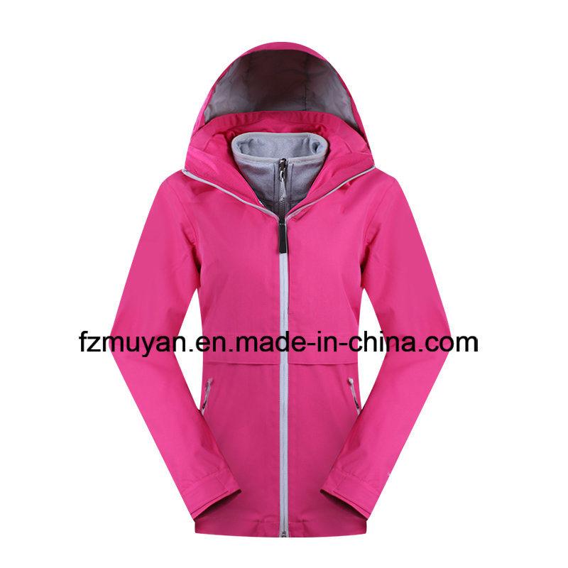 Women Waterproof Breathable Triple Jacket