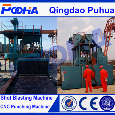 Ce Quality Q69 H Beam Steel Shot Blasting Machine