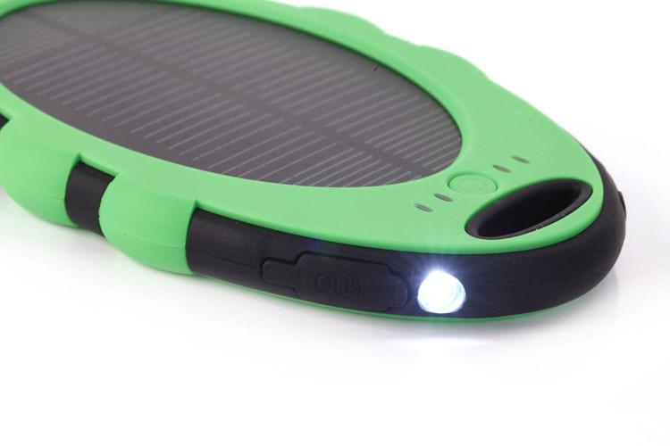 Solar Portable Power Bank Charger