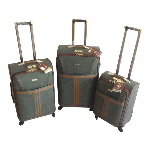 PU Leather Bags Trolley Case Luggage Jb-D009