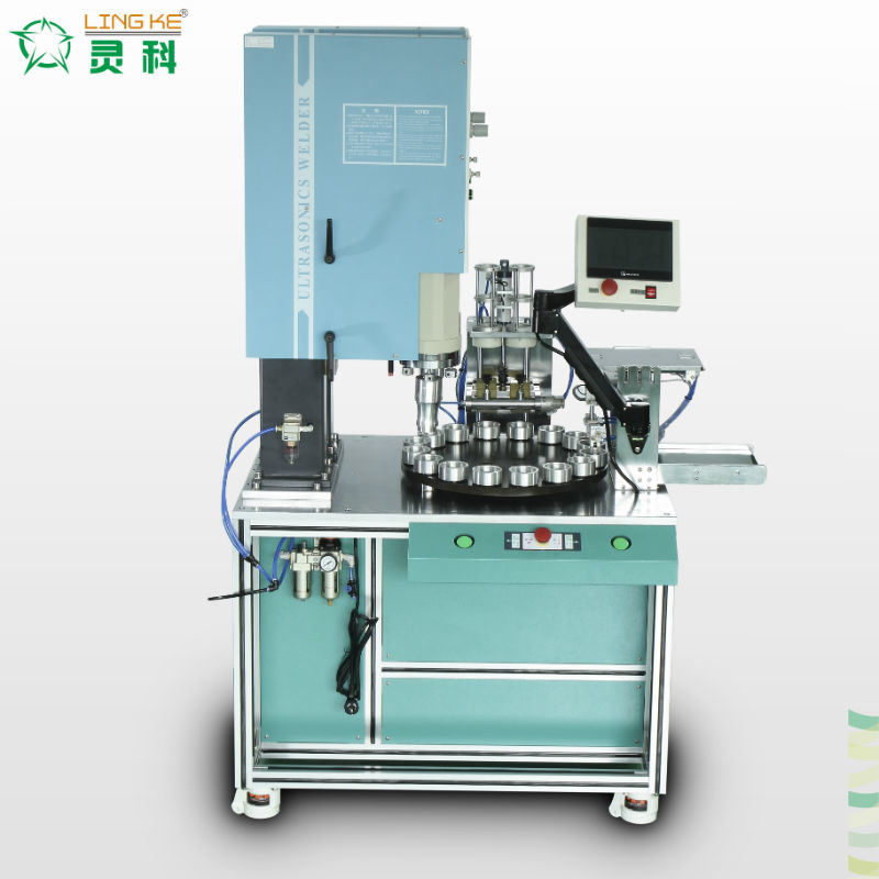 Ultrasonic Turnable Plastic Welding Equipment