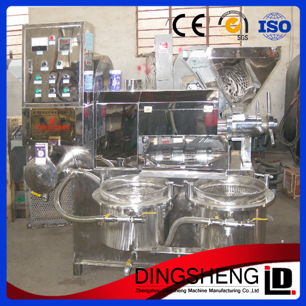 Automatic Sunflower Seed Oil Extruder