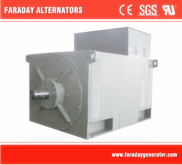 High Voltage Alternator 3.3kv to 13.8kv From China Generator Factory 2200kw-3000kw 3.3kv-13.8kv